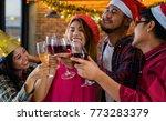 group of asian friend... | Shutterstock . vector #773283379