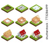 isometric set stage by stage... | Shutterstock . vector #773286499
