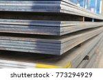 steel plate structure | Shutterstock . vector #773294929