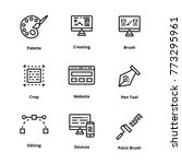 design thin line icon | Shutterstock .eps vector #773295961
