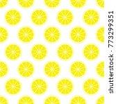 yellow citrus background of cut ...   Shutterstock .eps vector #773299351