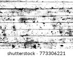 grunge old wood black cover... | Shutterstock .eps vector #773306221