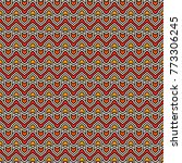 seamless pattern with arrows... | Shutterstock .eps vector #773306245