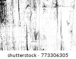 grunge old wood black cover...   Shutterstock .eps vector #773306305