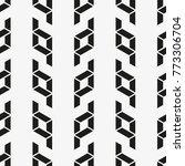 vector seamless pattern. modern ... | Shutterstock .eps vector #773306704