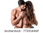 back view of beautiful sensual...   Shutterstock . vector #773316469