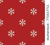 vector seamless white... | Shutterstock .eps vector #773317711