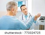 professional physician. smart...   Shutterstock . vector #773324725