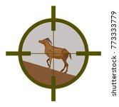 wild goat seen in the... | Shutterstock .eps vector #773333779