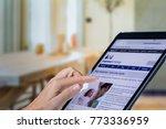 johannesburg  south africa 12...   Shutterstock . vector #773336959