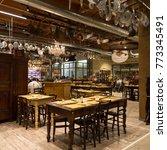 bologna  italy   circa december ... | Shutterstock . vector #773345491