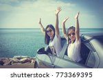 vacation and holiday concept  ... | Shutterstock . vector #773369395