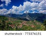 oreini nafpaktia  greece. ano... | Shutterstock . vector #773376151