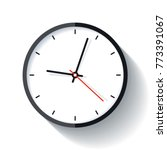 clock icon in flat style  timer ... | Shutterstock .eps vector #773391067