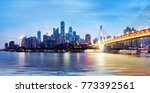 cityscape and skyline of... | Shutterstock . vector #773392561