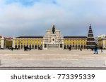 commerce square  praca do... | Shutterstock . vector #773395339