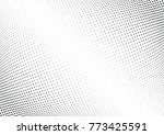 abstract halftone wave dotted... | Shutterstock .eps vector #773425591