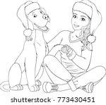 vector illustration of a... | Shutterstock .eps vector #773430451