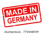 made in germany stamp | Shutterstock .eps vector #773448559