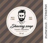 elegant designer labels   men's ...   Shutterstock .eps vector #773466964