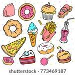 vector illustration of set of...   Shutterstock .eps vector #773469187