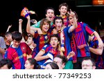 barcelona   may 13 ... | Shutterstock . vector #77349253