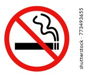 no smoking sign icon... | Shutterstock .eps vector #773493655