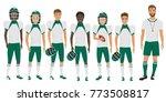school basketball team guys... | Shutterstock .eps vector #773508817