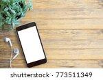 Smartphone White Screen  White...