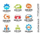 automotive car logo template... | Shutterstock .eps vector #773516599