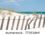 Sand Dune On Perdido Key ...