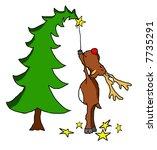 reindeer | Shutterstock .eps vector #7735291