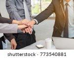 business success concept  ... | Shutterstock . vector #773540881