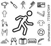 sport. lifestyle icon set   Shutterstock .eps vector #773547349