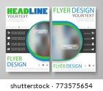 business flyer magazine cover... | Shutterstock .eps vector #773575654