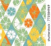 vector seamless pattern set...   Shutterstock .eps vector #773584969