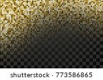 halftone dotted pattern as a... | Shutterstock .eps vector #773586865