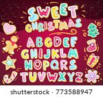 Merry Christmas Sweet Font....
