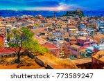 Panoramic View Of Kerkyra ...