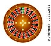 realistic detailed wheel luck...   Shutterstock .eps vector #773612581