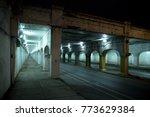 dark chicago city alley...