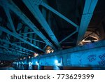 gritty and scary city skate... | Shutterstock . vector #773629399
