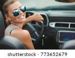 portrait of beautiful sexy...   Shutterstock . vector #773652679
