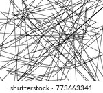 asymmetrical texture with... | Shutterstock .eps vector #773663341