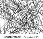 asymmetrical texture with... | Shutterstock .eps vector #773663344