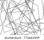 asymmetrical texture with... | Shutterstock .eps vector #773663359
