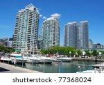 Downtown Toronto Waterfront - stock photo