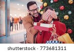 new year's surprise for a... | Shutterstock . vector #773681311