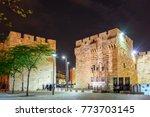 jerusalem  israel   april 2017  ... | Shutterstock . vector #773703145