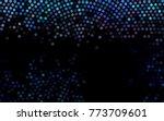 dark multicolor  rainbow vector ...   Shutterstock .eps vector #773709601
